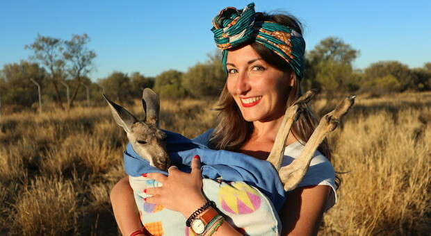 La travel blogger Fraintesa