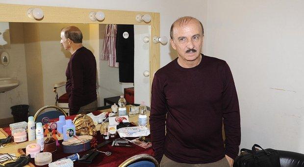 L'attore Carlo Buccirosso