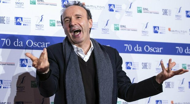 Leone d'oro alla carriera a Roberto Benigni, funambolo delle arti