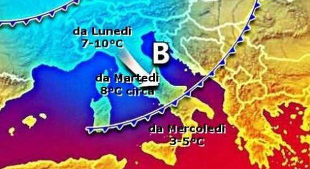 Meteo, arriva la burrasca di Ferragosto: attesi sino a 10° in meno. Temporali da domani