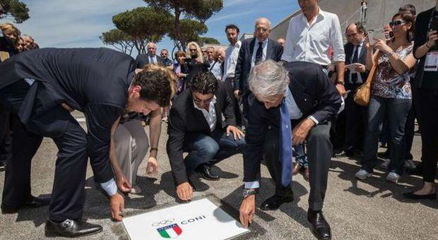 """""""Walk of fame"""", al Foro Italico il nuovo viale con le leggende dello sport italiano"""
