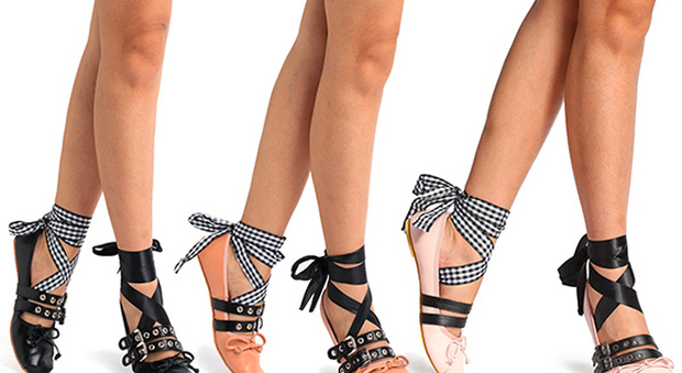 official photos 5b546 9e13b Trend scarpe: tutte pazze per le ballerine di Miu Miu