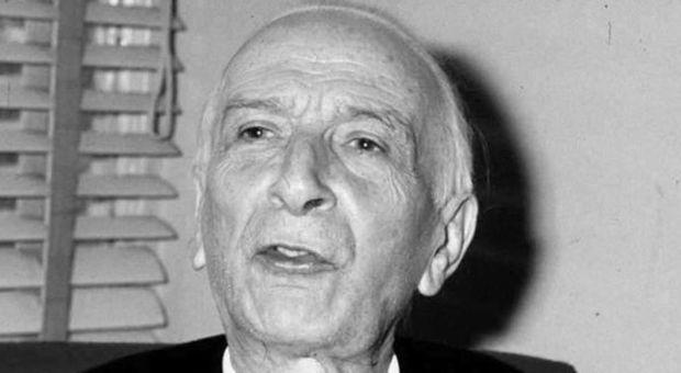 Il presidente Antonio Segni