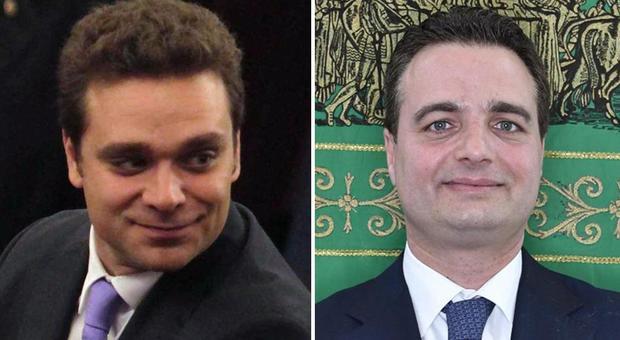 Pietro Tatarella, candidato alle Europee per Forza Italia, e Fabio Altitonante, consigliere della Regione Lombardia