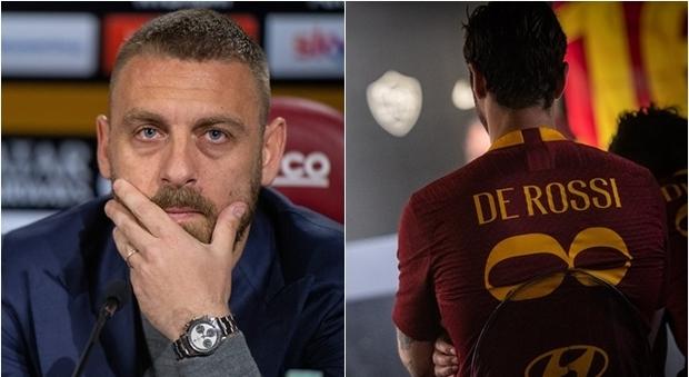 Roma, De Rossi: «In 10 mesi nessuna chiamata, avevo capito»