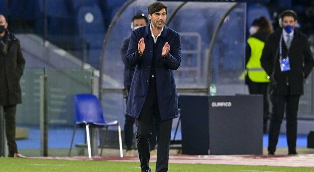 Roma, Fonseca: «Era arrivato il tempo di seguire cammini diversi. Mourinho? Grande allenatore»
