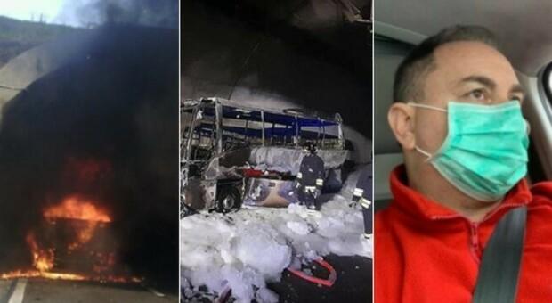 Bus in fiamme a Lecco, aperta un'indagine. Uno dei 24 ragazzi salvati dall'autista: «Tremavo dalla paura»