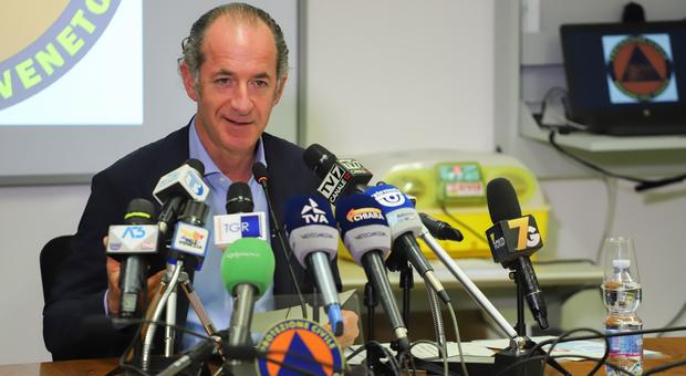 Coronavirus. Luca Zaia in diretta oggi: i nuovi infetti sono i 40enni e il 70% è asintomatico thumbnail