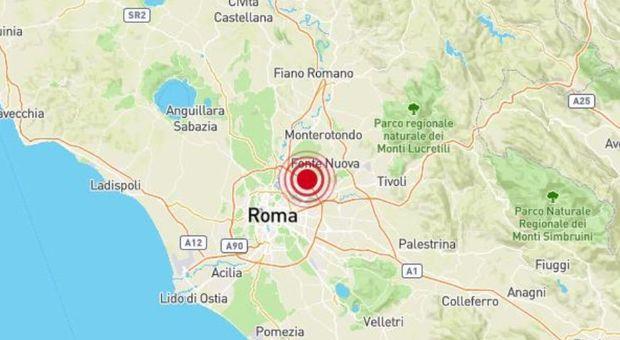 Terremoto a Roma di 3.3, valanga di commenti sui social. «Svegliati da un boato»