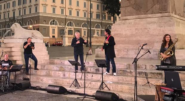 """""""Vivi - Live"""", da Fresi a Pannofino lo spettacolo riparte da Piazza del Popolo"""