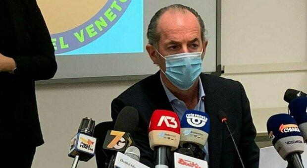 Luca Zaia: «In Veneto 14° giorno di calo contagi, vaccino Moderna agli over 80»