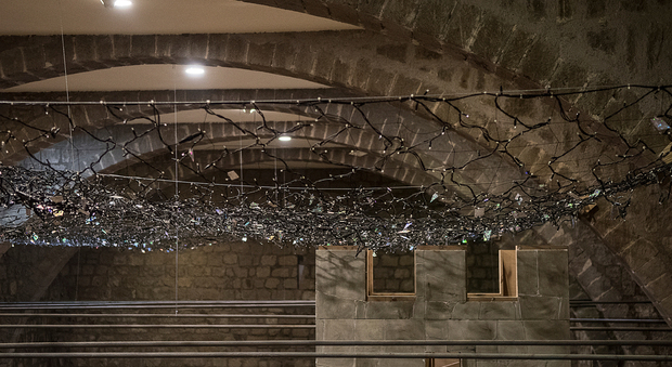 Viterbo prende forma il presepe al coperto più grande del mondo