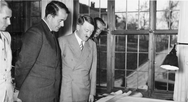 Albert Speer e Adolf Hitler