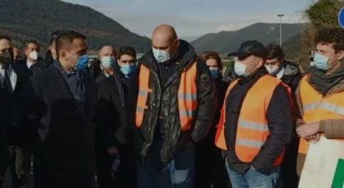 Il ministro Di Maio ha incontrato i lavoratori della Treofan