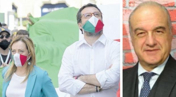 Elezioni a Roma, stallo a destra: Meloni vuole Michetti, ma c'è il gelo di Salvini