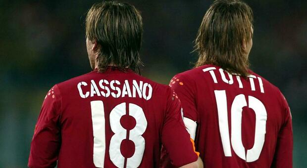 Cassano confessa a Vieri: «Totti era stato venduto al Chelsea. Dovevo essere io il futuro della Roma»