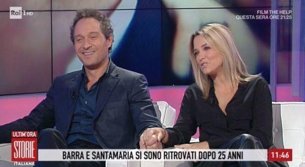 Storie Italiane, Francesca Barra e Claudio Santamaria: dalla lotta contro  gli hater al dolore per il bambino perso