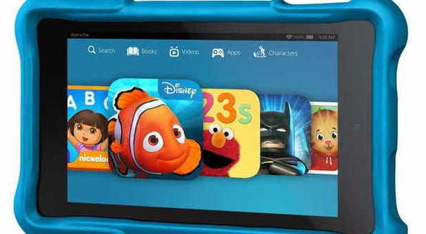 Amazon, ecco i nuovi dispositivi: dagli e-book reader al tablet per bambini