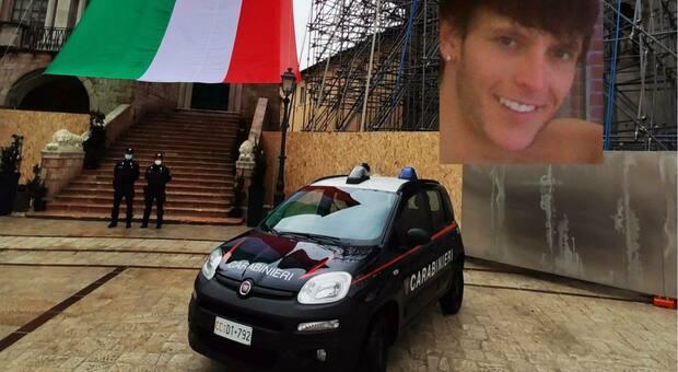 Nel riquadro: Cristian Salvatori, condannato per l'omicidio preterintenzionale di Emanuele Tiberi