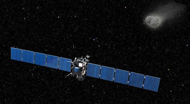 La sonda Rosetta si avvicina alla cometa 67P/Churyumov Gerasimenko