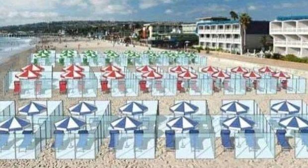 Spiagge, divisori in plexiglass, passaporto sanitario e termoscanner, Franceschini: «Scelta alle Regioni»