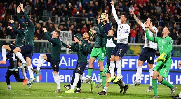 A Palermo un'Italia grandiosa e storica: 9-1 all'Armenia e dieci su dieci nel girone