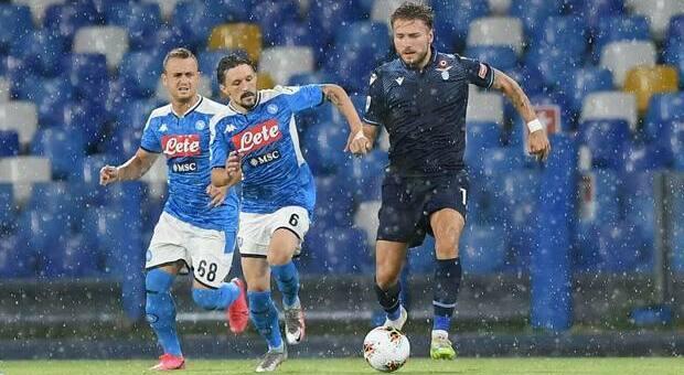 La Lazio perde 3-1 a Napoli e chiude quarta