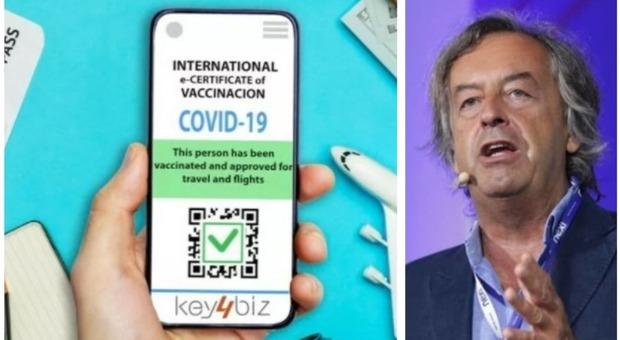 Covid, Burioni sui pass vaccinali