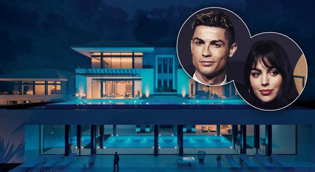immagine Cristiano Ronaldo, vacanze blindate prima dei Mondiali nella villa extralusso
