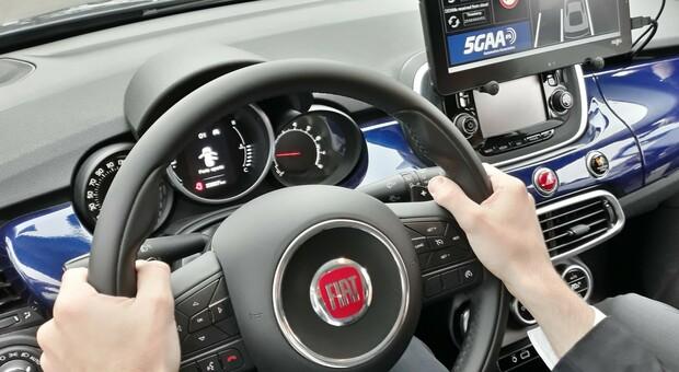 Un'auto Fiat