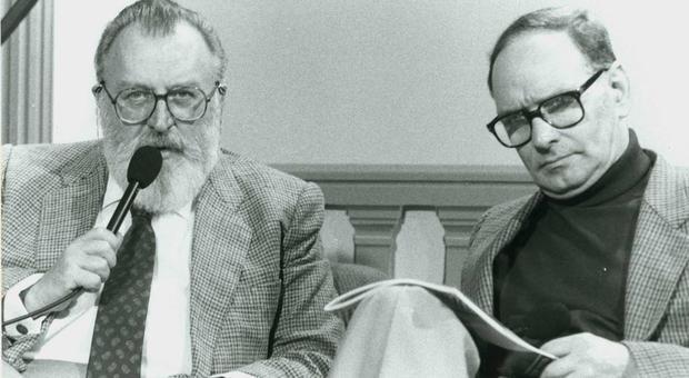 Ennio Morricone e Sergio Leone, amici geniali