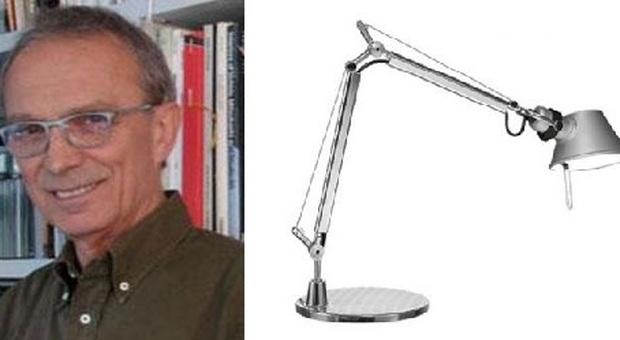 immagine Morto Giancarlo Fassina, architetto e designer: sua la lampada Tolomeo