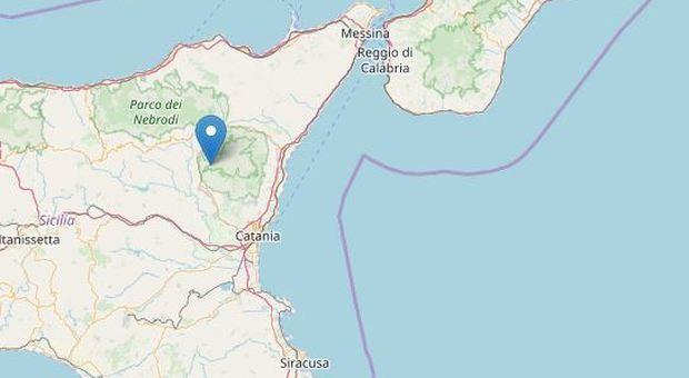 Terremoto a Catania: tre scosse con magnitudo fino a 3.3