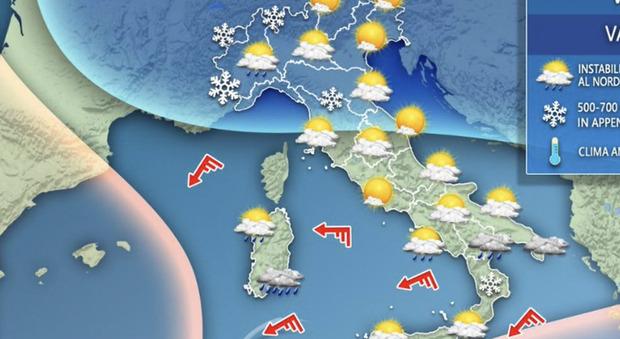Meteo, temperature ancora basse, ma prossima settimana tornerà il caldo