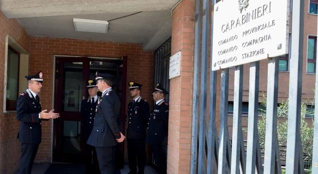 Il generale Bandiera visita il Comando Provinciale dei Carabinieri di Perugia