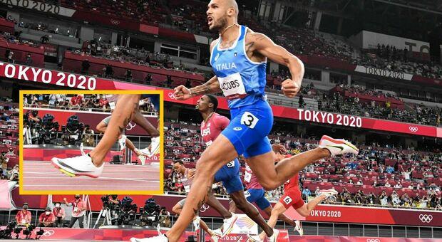 """Jacobs e le scarpe """"magiche"""", l'accusa di Bolt: «Sono ingiuste». Ma il mondo dell'atletica lo difende"""