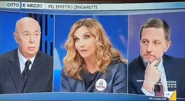 Lorella Cuccarini, nuova gaffe da Lilli Gruber. Polemica su Instagram