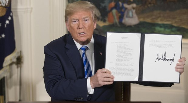 Trump colpisce petrolio Iran e dà schiaffo all'Europa