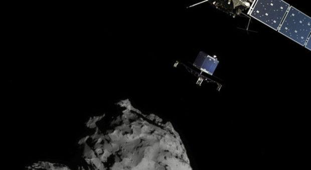 Le origini della vita sulla Terra: tracce di composti organici sulla cometa 67P esplorata da Rosetta