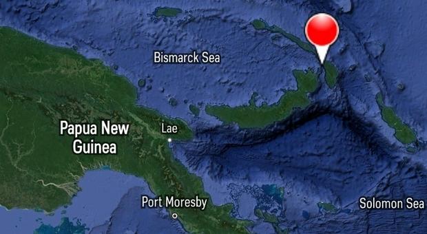 Terremoto in Papua Nuova Guinea di magnitudo 7.7: