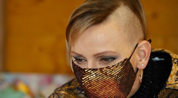 Charlene di Monaco con un nuovo taglio rasato: il look shock della principessa