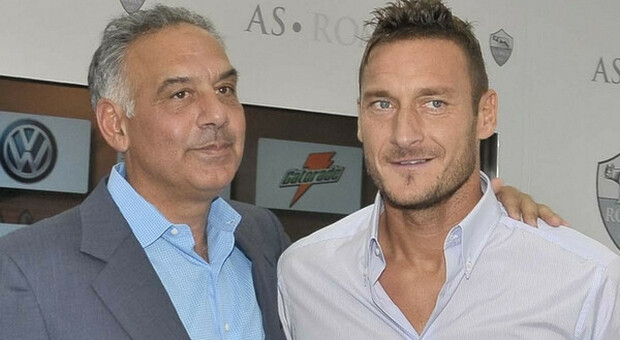 Le condoglianze di Pallotta a Totti: «Prego per te e la tua famiglia»