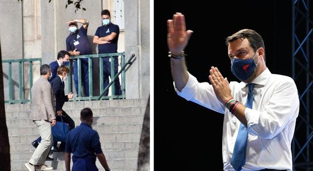 Gregoretti, per Salvini la procura chiede l'archiviazione. Udienza preliminare il 20 novembre, sarà sentito anche Conte. Il leader della Lega: «Soddisfatto»