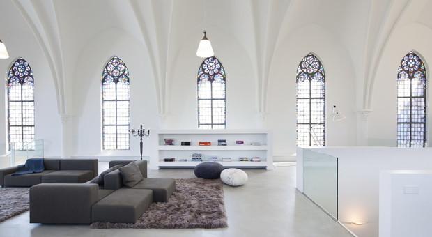 immagine Casa e chiesa: benvenuti nelle cappelle convertite in appartamenti