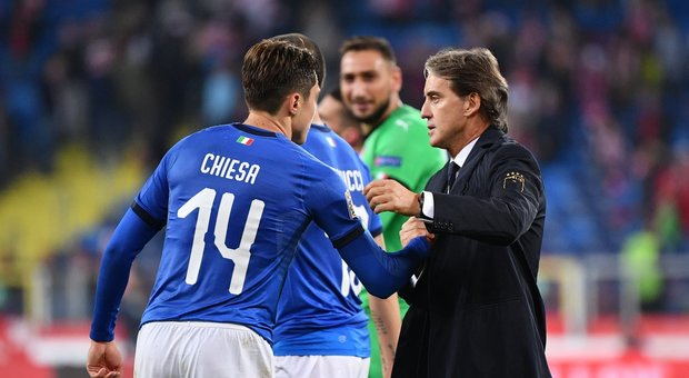 Nazionale: gli azzurri arrivano al Quirinale, l'emozione di Mancini - FOTO&VIDEO