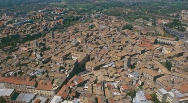 Veduta panoramica di Viterbo