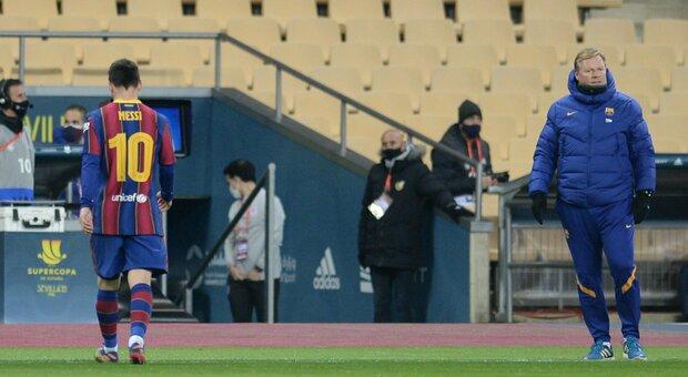 Messi, niente stangata: due giornate di squalifica per la manata in Supercoppa