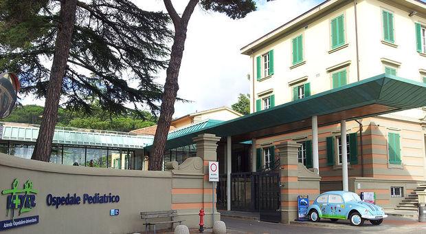 Meningite, bimbo di tre anni ricoverato all'ospedale Meyer di Firenze