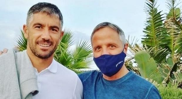 Kolarov insieme a Stefano Quartieri
