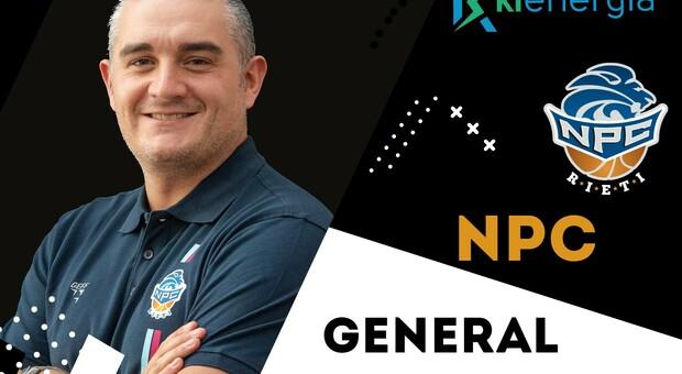 Gianluca Martini promosso general manager della Npc: «Giovane e competente». «Alla fine è prevalso il cuore»